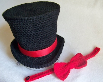 Mad Hatter Tea Party Hat - Baby Circus Outfit - Ringmaster Outfit - Circus Outfit - Mad Hatter Costume - Baby Top Hat - Circus Top Hat