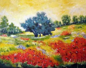 Summer Afternoon - Original Landscape Painting