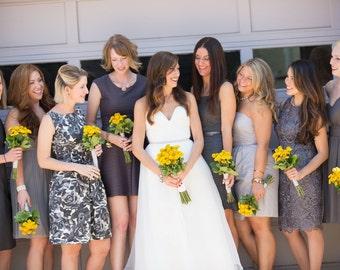 Draped Sweetheart Tiered Organza Wedding Dress