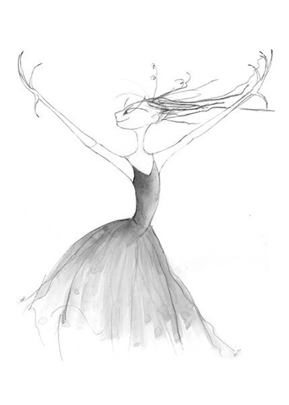 Sleeping Beauty Ballet-Evil Fairy Witch-Art by ...