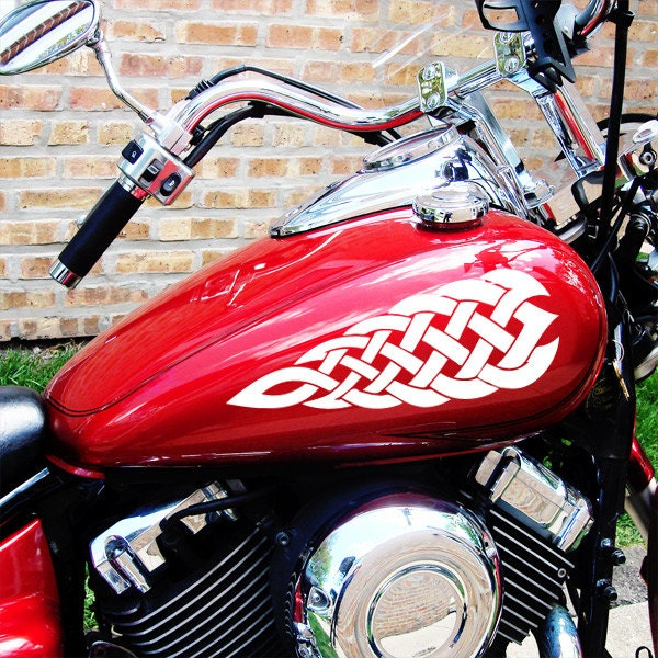 Celtic Knotwork Decal Set Motorcycle Tank Knotwork Decals