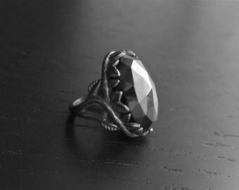 Croatoan Ring - Onyx