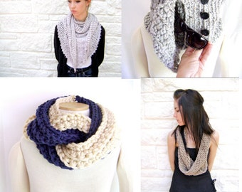 My Favorite 4 Crochet Scarf/Cowl Patterns