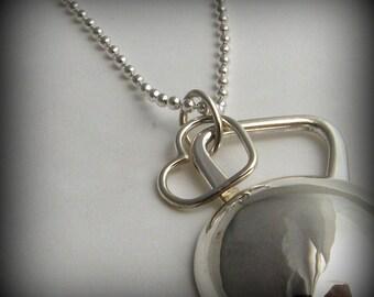 Heart Charm, add on heart charm