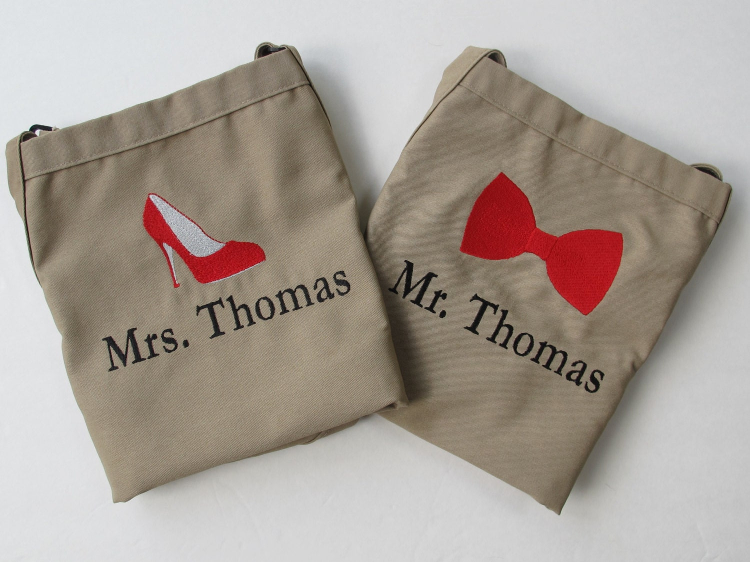 Mr Mrs Wedding Gifts: Mr And Mrs Aprons Wedding Shower Gift Monogrammed