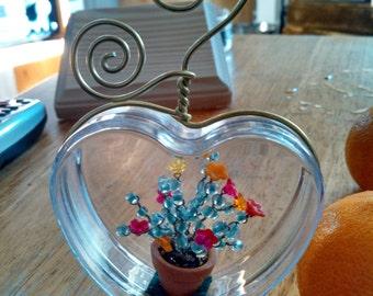 Flower Pot Love  -  ornament - decor - gift