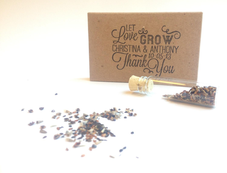 Modern Flower Seeds Wedding Favors Images Inspirations – Dievoon