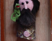 Jim Henson finger puppet (with Kermit)