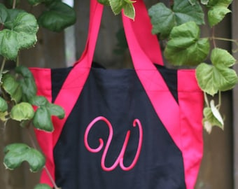 Dual Colored Canvas Tote Bag Personalized Just For You!