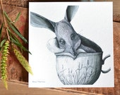 Tea Cozy Bilby - ECO Limited Edition Archival Print