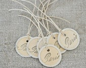 Rustic French Inspired Gift Tags
