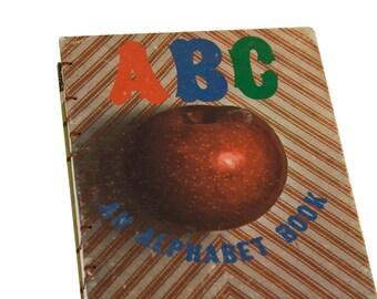 1966 ABC Vintage Journal Notebook