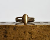 Solstice Cage Ring in Bronze