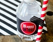 Pirate Party PRINTABLE Drink Labels (INSTANT DOWNLOAD) from Love The Day