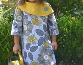 INSTANT DOWNLOAD- Rachel Dress (Size 12/18 months to Size 8) PDF Sewing Pattern and Tutorial