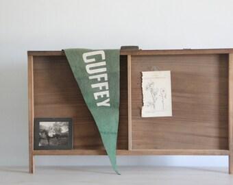 vintage letterpress drawer - industrial curiosity cabinet