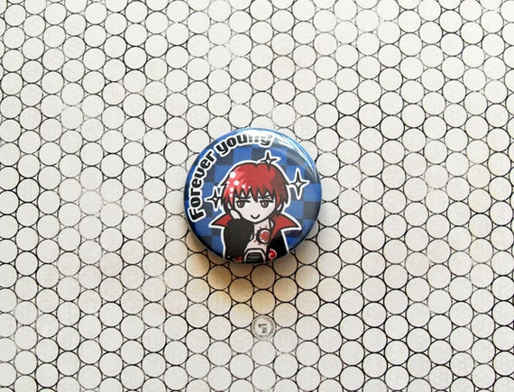 Sasori Naruto ninja anime pinback button/magnet