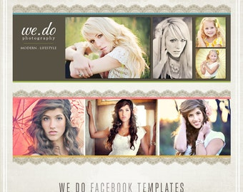 We Do Lace Facebook Templates