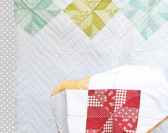 Baby Argyle Quilt Pattern - PDF Version