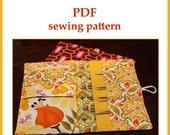 Interchangeable Knitting Needle Case PDF sewing pattern