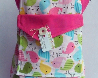 Kids Apron Spring Birdies Design