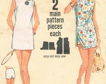 1960's Tennis Dress Pattern by Simplicity N0. 5444