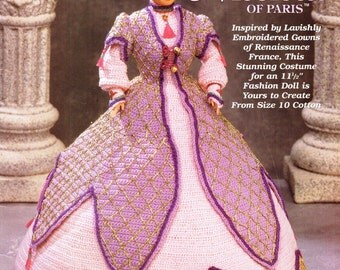"NICOLETTE Of PARIS ""Ladies of Fashion"" CROCHET The Needlecraft Shop Pattern Booklet"