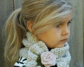 Crochet PATTERN-The Ashby Scarf (Adult,Child, Toddler sizes)