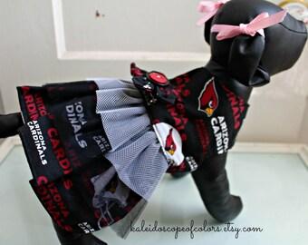 Arizona Cardinals X-Small Dog Harness Dress
