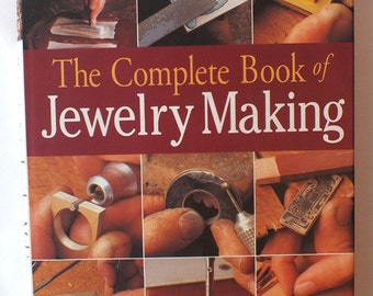 Jeweler's Resource - The Complete Book of Jewelry Making by Carles Codina - Great resource book for jewelry making, crafting