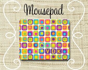 Custom Personalized Mousepad Mouse Pad Mod Squares