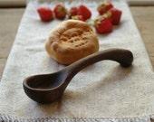 Wood Jam Spoon - Carved Wooden Spoon - Kitchen Spoon - Salsa Scoop - Food Prep