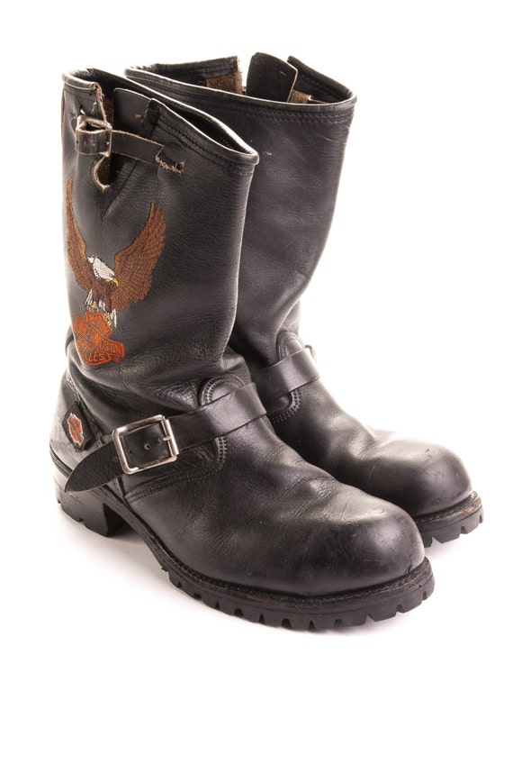Harley Davidson Steel Toe Engineer Boots Mens Size 10M EB3
