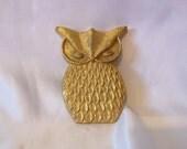 Owl Metal Owl Owls Gold Owl
