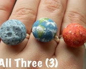 SET 3D Planet RIngs (Sun, Moon, Earth)