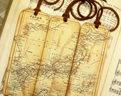 Bookmarks for Men Historical Japan Map Bookmarks Set of 3 Gifts for Men Map Bookmark Gifts for Him Map Collectors Map Lovers