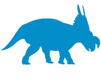 Anchiceratops Dinosaur Stencil for Painting Kids or Baby Room Mural   (SKU350-istencil)