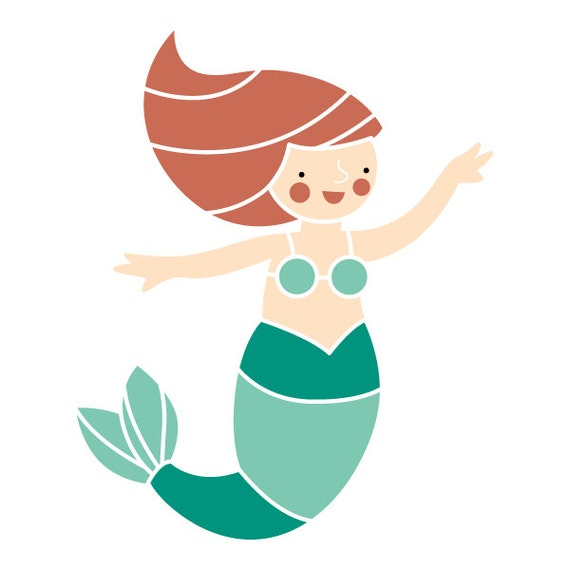 Mermaid Cake Topper Etsy