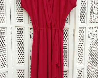 Raspberry Rainbow of California Dress - S / M