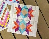 Quilt Sampler Block of the Month Pattern Double Starburst