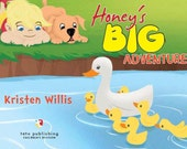 Personalized Childrens Picture Book Honey's Big Adventure by Kristen Willis