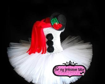 Snowman Tutu Outfit, snowman photo prop, snowman outfit, baby snowman, christmas snowman, photo prop, christmas photos, snowman tutu