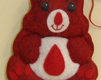 PHLEBOTOMY Bellie Bear by Tess Wentz of Tess Creates