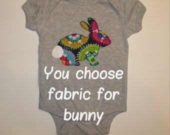 Easter Bunny Baby Bodysuit, Baby Easter Outfit, Spring Baby Outfit, Easter Baby, Easter Shirt, Easter, Baby Shower Gift