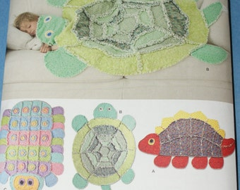 New Simplicity Childs Rag Quilt pattern 2493