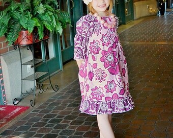 Matilda's Tween Shirred Peasant Dress and Top PDF Pattern size 7/8 to 15/16 girls