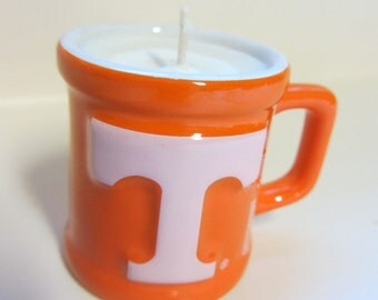 Tennessee Volunteers Soy Candle - Mini Mug Shot Glass Candle - CHOICE OF SCENT
