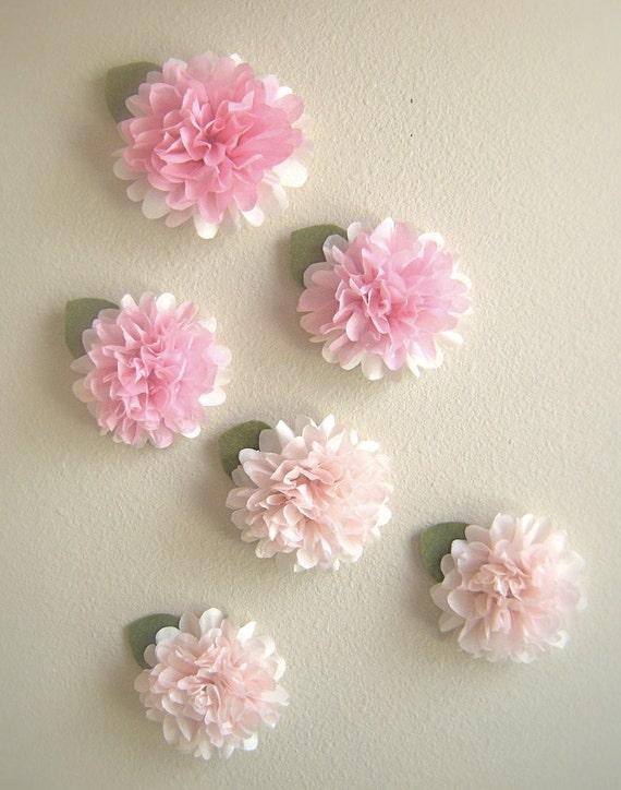 Tissue paper pom pom wall decals wall decoration pictures wall tissue paper pom pom wall decals mightylinksfo