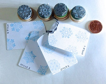 Snowflake Stamps Choose Your Style at Checkout