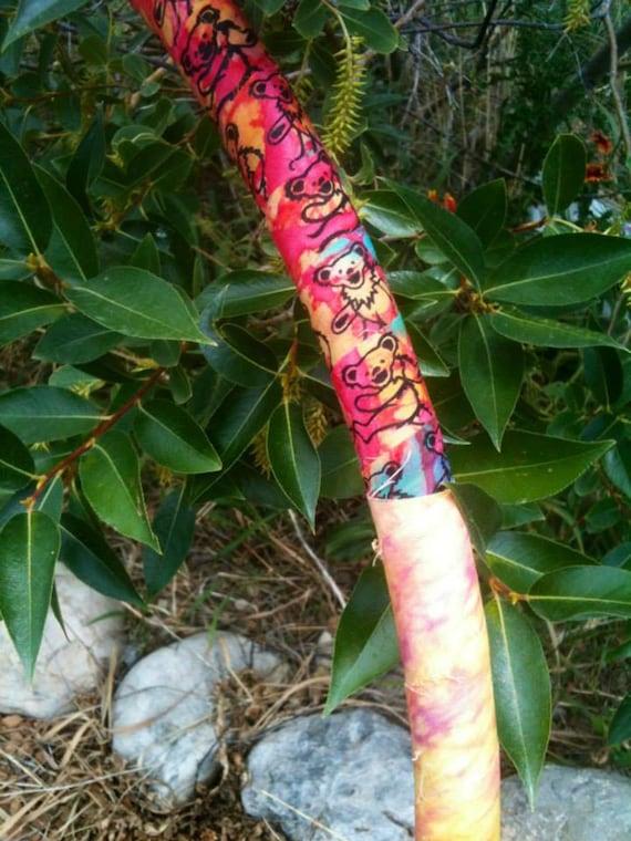 GRATEFULLY DEADICATED custom Hula Hoop